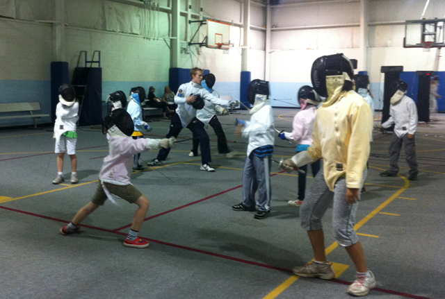 Fencing: A game of physical chess (PHOTOS)