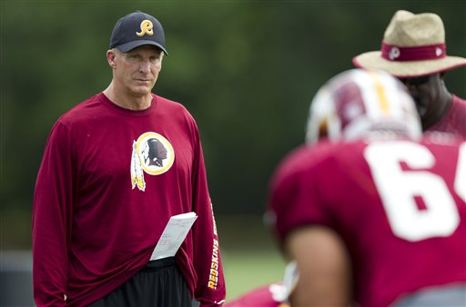 Haslett out as Redskins' defensive coordinator