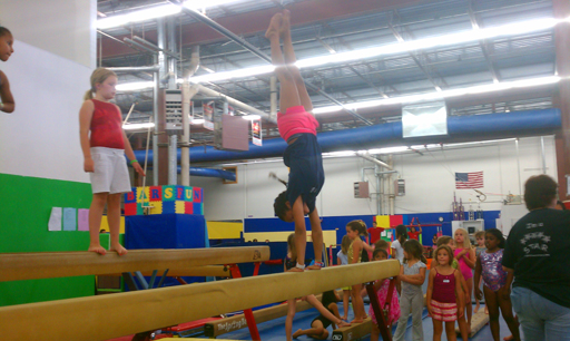 Young gymnasts get inspired, eye future Olympic Games