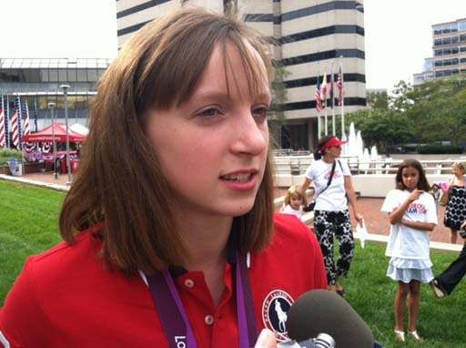 Bethesda welcomes Olympians home with a party