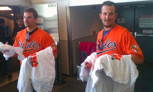 Orioles players get to work for Southwest Airlines (VIDEO)