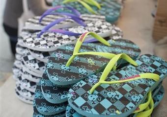 Flip flops leave feet prone to injury