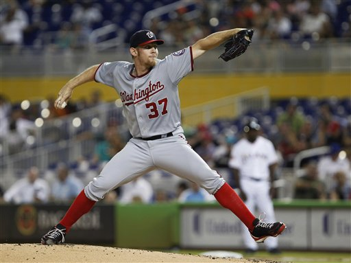 Strasburg's season is officially over