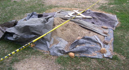 Alexandria dig uncovers graves, traces of African-American community