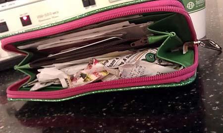 Lighten your wallet to prevent identity theft
