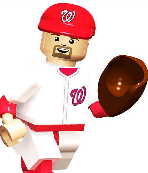 Nationals players debut in miniature form