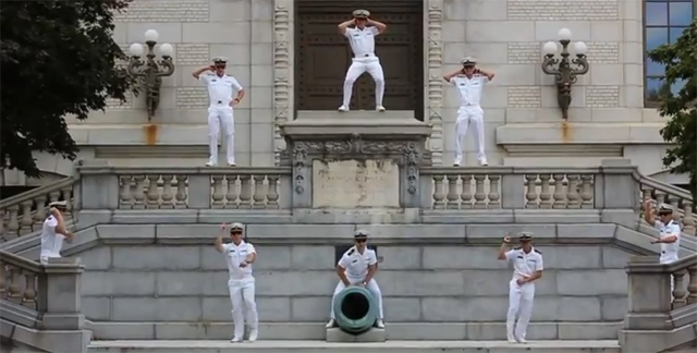 'Gangnam Mids' gyrate into Annapolis (VIDEO)