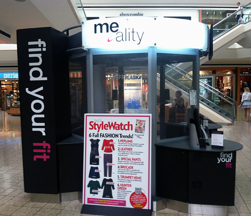 Clothes size scanner comes to Fair Oaks Mall
