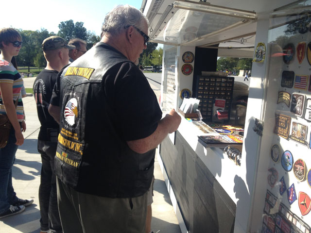 New POW-MIA kiosk opens at Vietnam Memorial