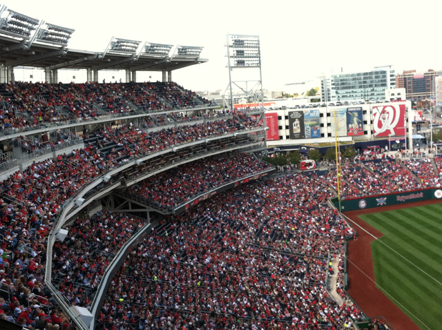 Nats playoff game to impact afternoon traffic