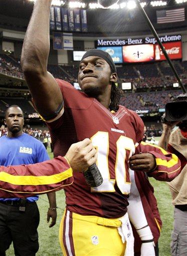 Blog: RGIII leads the pack in the NFL week one recap
