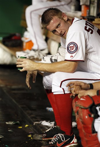 Blog: Strasburg is 'not happy' about his shutdown