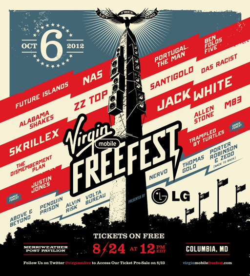 Virgin Mobile FreeFest to host rock, electronic and D.C. bands