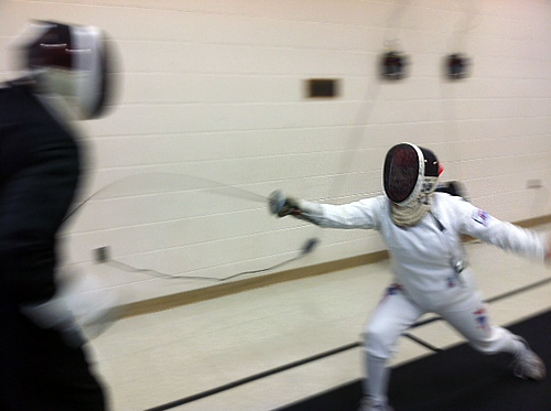 Two 71-year-olds head to fencing world championships