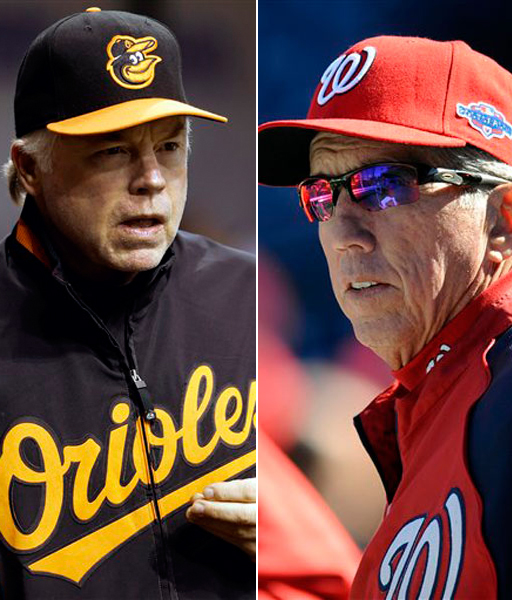 Davey and Buck voted Managers of Year