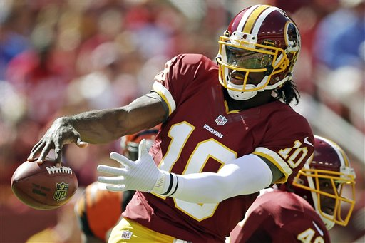 Blog: RGIII is doing the unthinkable, speeding past the hype