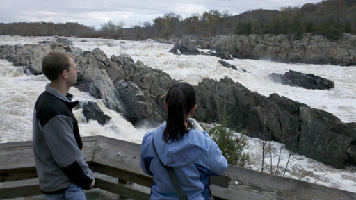 After the storm: The Potomac reacts at Great Falls Park