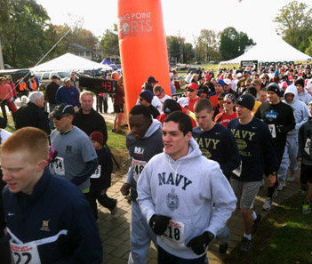 Injured vets embrace life at annual race