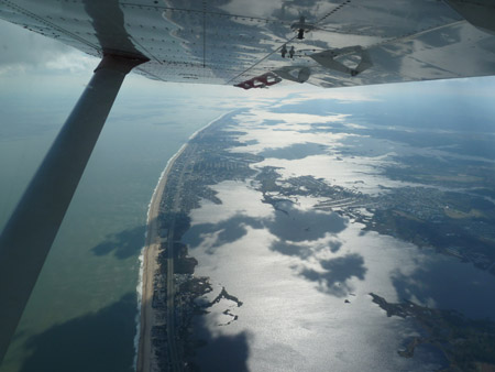 FEMA's go-to guys measure Sandy's impact from the air