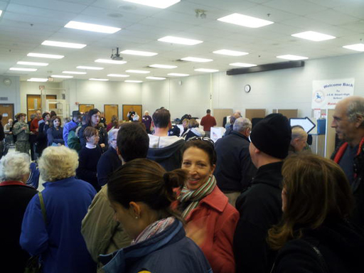 Long lines, scattered glitches in Md., Va., D.C. on Election Day