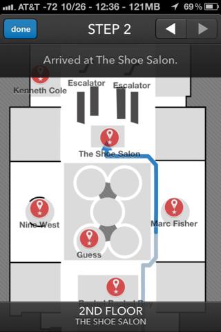 Macy's unveils new GPS app