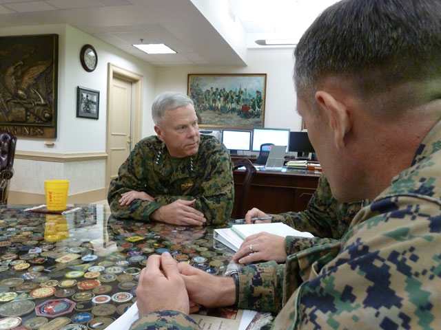 Concerns about the future keep top Marine up at night