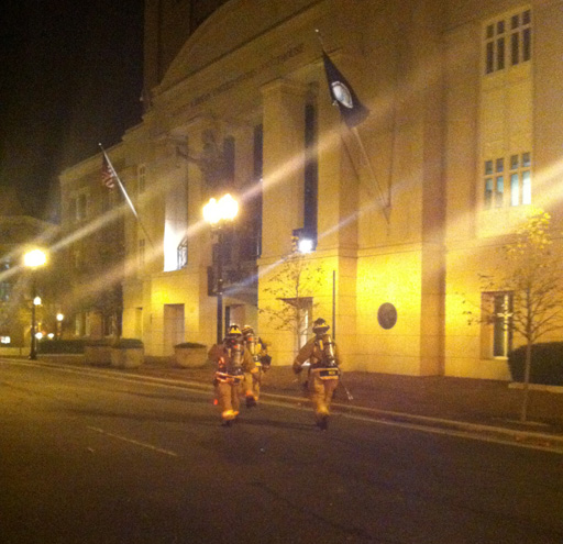 Hazmat crew investigating leak in Alexandria federal courthouse
