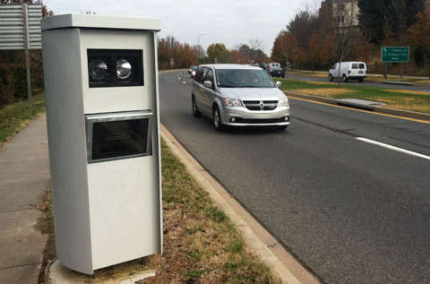 Montgomery, Prince George's counties get most of Md.'s speed camera tickets