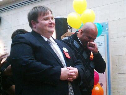 District celebrates the joy of new families
