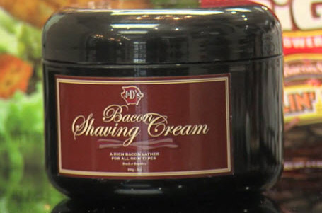 A luxurious shave cream fit for the gods