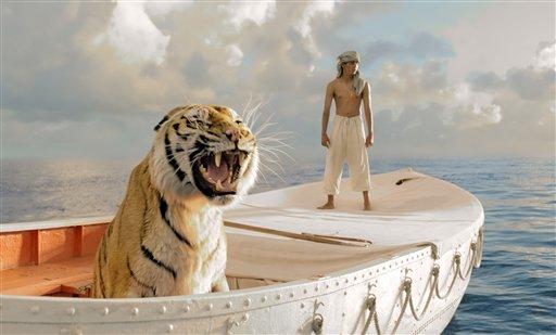 'Life of Pi' brings crouching tiger, hidden parable