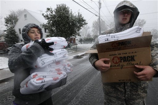 How you can help superstorm and nor'easter victims