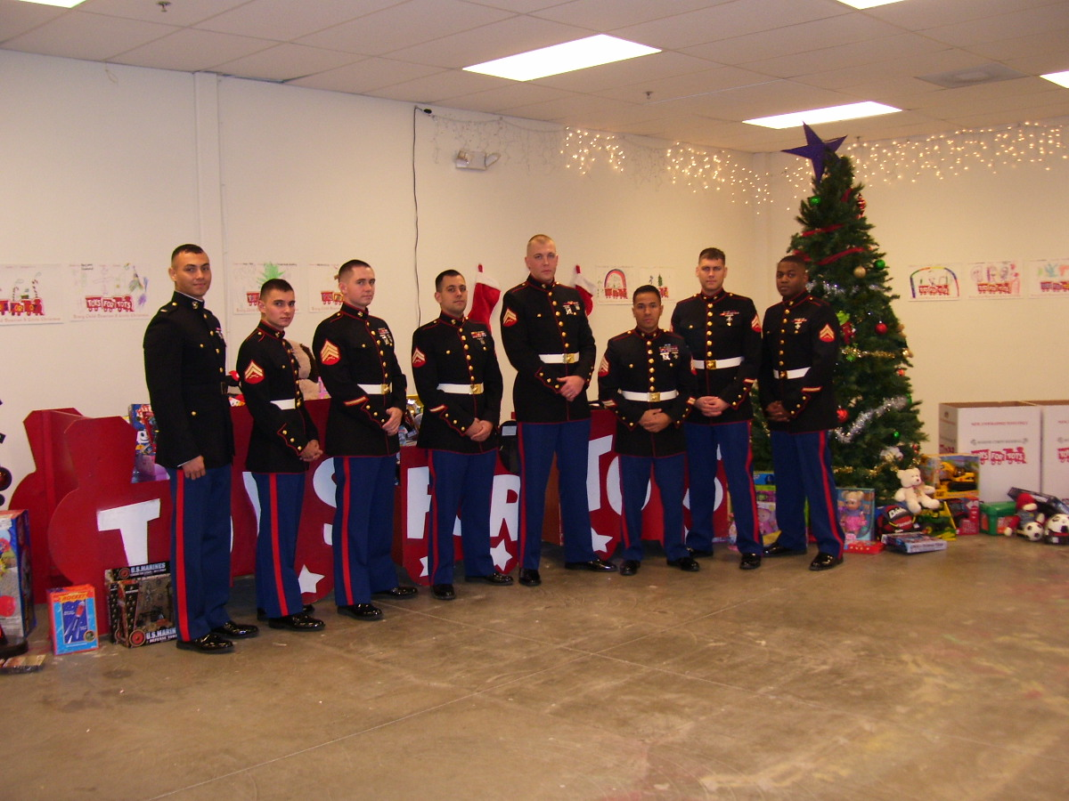 AAA locations accepting Toys for Tots donations