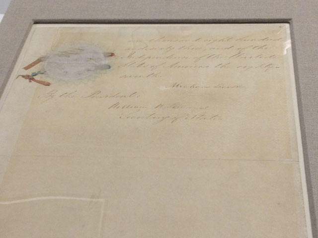 Emancipation Proclamation to go on display at National Archives