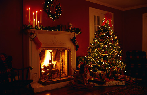 Old Christmas trees, New Year's resolutions