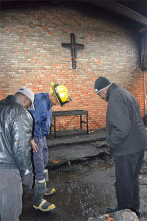 Oxon Hill fire heavily damages church