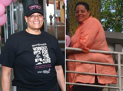 Potomac woman works at her resolution one lap at a time