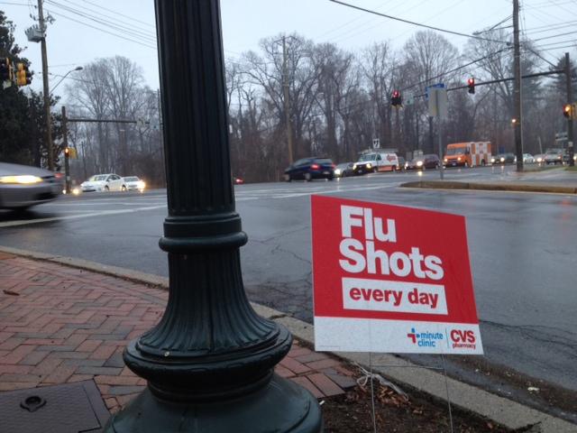 Local clinics run out of flu vaccines