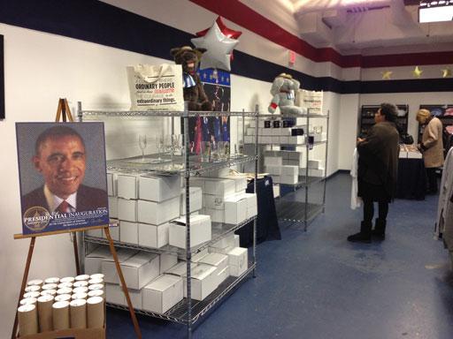 Obama swag hits the shelves as inauguration nears