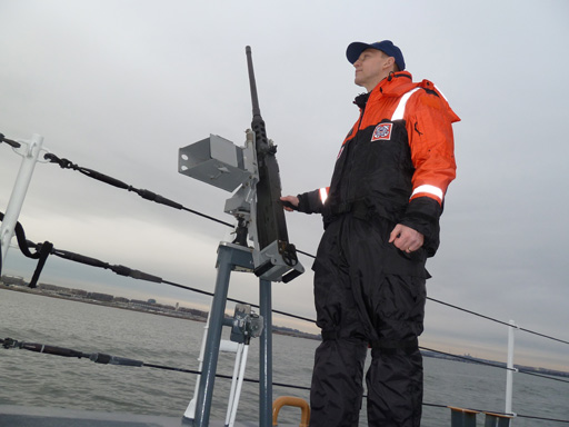 Answering the Bell: On Inauguration Security Patrol with the Coast Guard