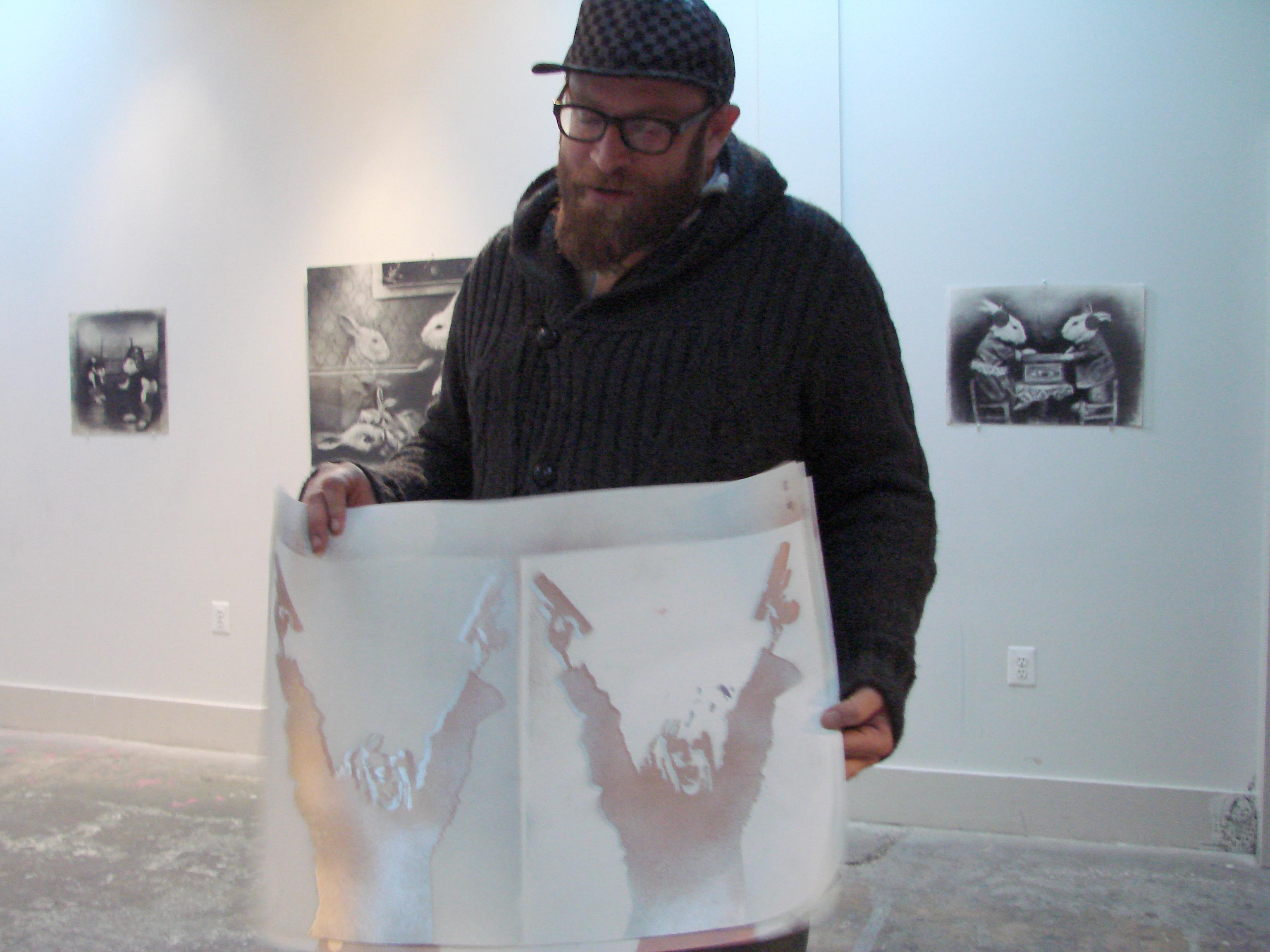 Slice of Life: Alex Goldstein, keeper of D.C.'s graffiti art scene