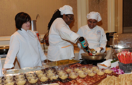 Women chefs 'turn up the heat' at ovarian cancer fundraiser