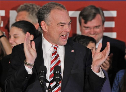 Newly elected Kaine has lengthy Senate to-do list