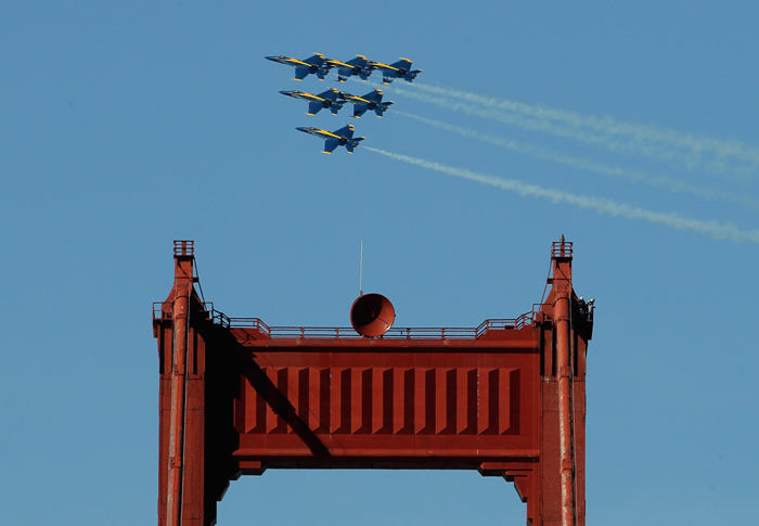 Navy: Sequestration could ground Blue Angels