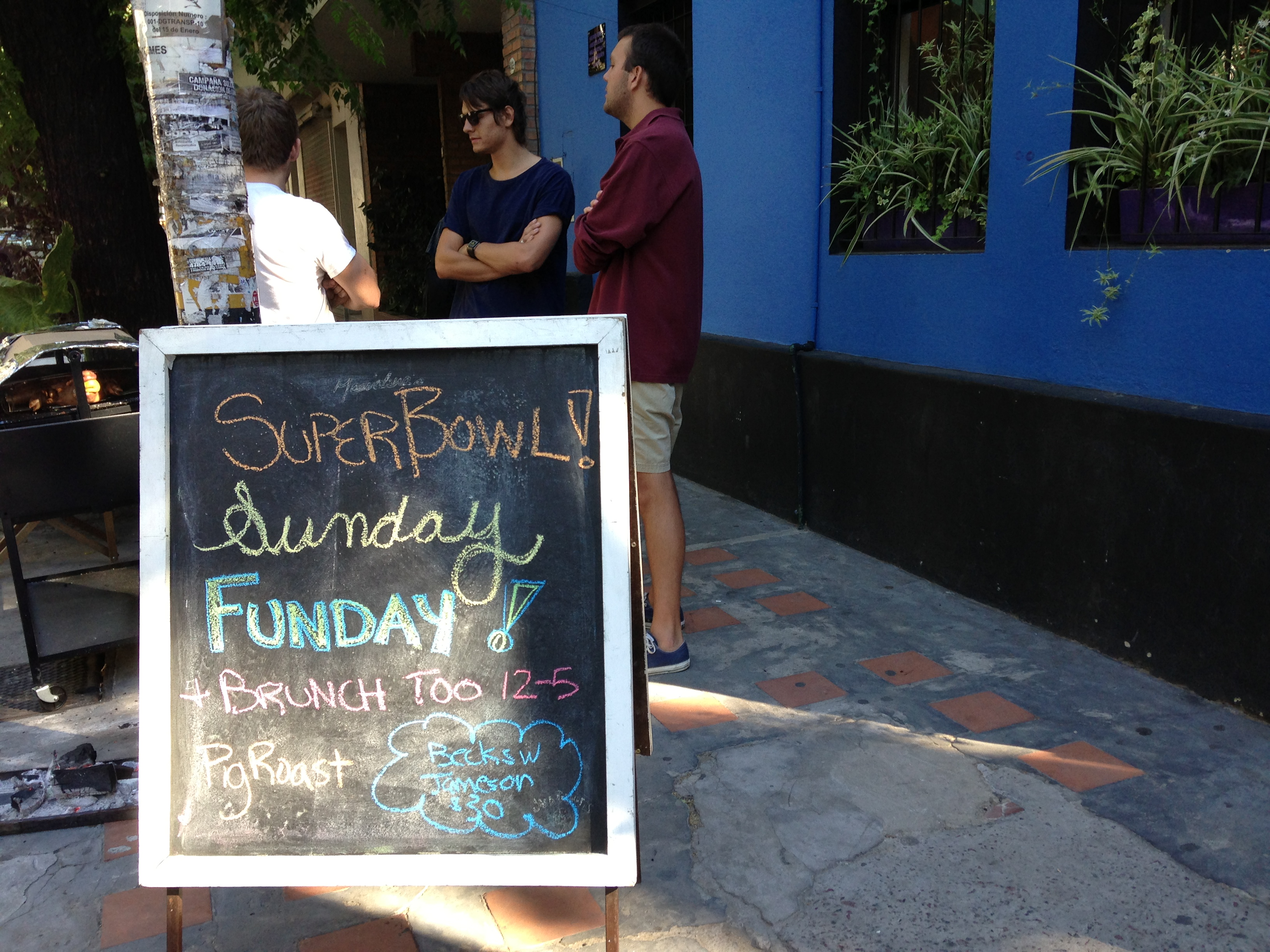 Blog: Finding patriotism during the Super Bowl in Buenos Aires