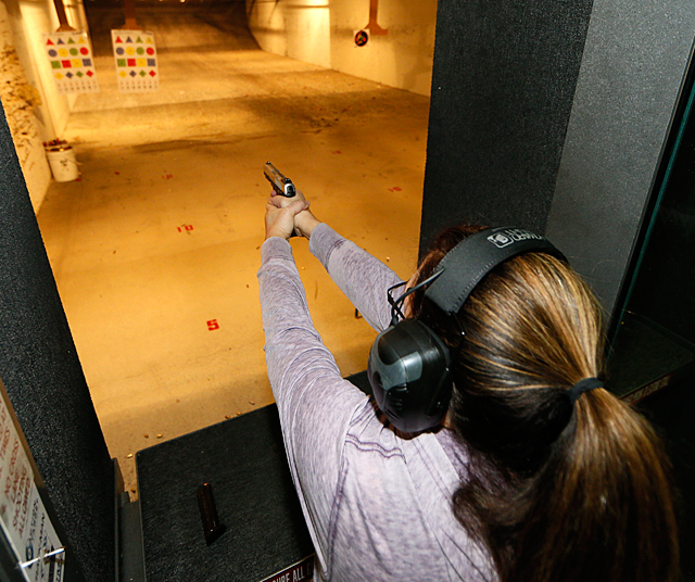 More women participate in shooting sports