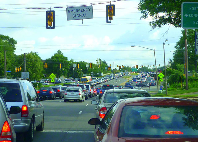 Reston citizens worried the Silver Line will bring gridlock