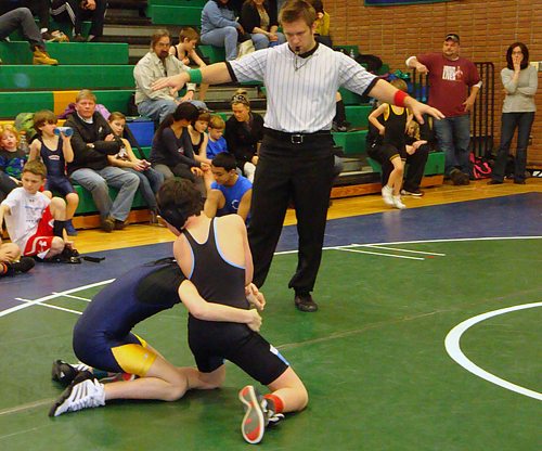 Local wrestlers' Olympic dreams crushed
