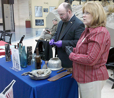 Military artifact whisperers shed light on family treasures