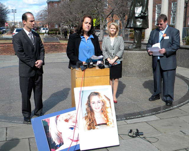 Parents rally around bill to protect children from cyberbullying